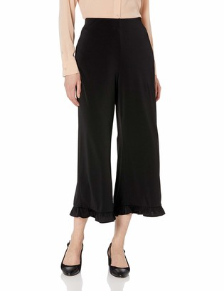 ECI New York Women's Ruffle Hem Pants