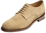 Cole Haan Carter Grand.OS Plain-Toe Suede Oxford, Milkshake (Tan)
