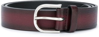 Orciani Burnished Leather Belt