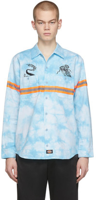 Dickies Clot Blue Edition Tie-Dye Work Shirt