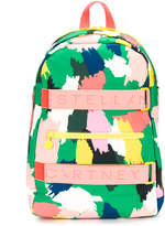 Stella McCartney brushstroke print backpack