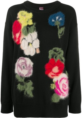 Paul Smith Floral-Intarsia Jumper