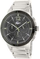 Lacoste Men's Darwin 2010744 Silver Stainless-Steel Quartz Watch