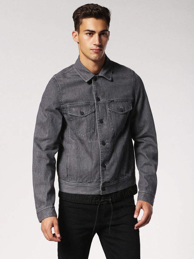 Diesel Denim Jackets 0PARE - Grey - L