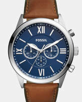 Fossil Flynn Brown Chronograph Watch