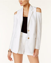 MICHAEL Michael Kors Off-The-Shoulder Blazer