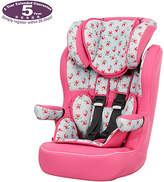 O Baby Obaby Group 1-2-3 High Back Booster Car Seat - Cottage Rose
