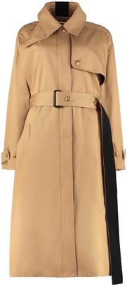 Givenchy Cotton Gabardine Long Trench Coat