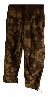 MHI Brown Cotton Trousers