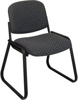 "Office Star Deluxe Sled Base Chair, Armless, 23""x24""x32"""