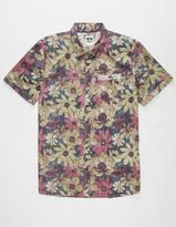 Reef Hippie Flower Mens Shirt