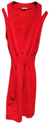 Wolford Red Cotton - elasthane Dresses