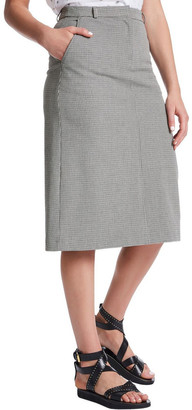 Marcs Plaid Perfection Midi Skirt