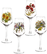 Portmeirion Botanic Garden Wine Glasses (Set of 4)