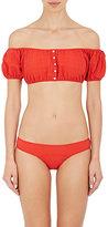 Lisa Marie Fernandez Women's Leandra Seersucker Bikini