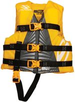 Coleman Stearns® Child's Watersport Classic Nylon Life Vest in Yellow/Green