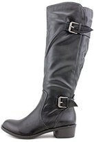 Style&Co. Style & Co. Style & Co Derbey Faux Leather Motorcycle Knee-High Boots