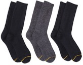 Gold Toe Auro® a GoldToe Brand Men's 3pk Knit Cushion Socks - Assorted