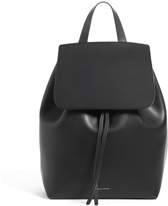 Mansur Gavriel Black Backpack - Raw