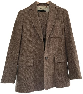 Marc by Marc Jacobs Camel Wool Jackets