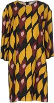 Gold Case Short dresses - Item 34760102