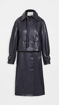 Thumbnail for your product : Tibi Convertible Trench Coat with Removable Belt
