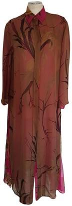 Gianfranco Ferre Multicolour Silk Dress for Women