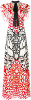 Temperley London Blaze printed maxi dress - women - Silk - 8