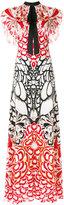 Temperley London Blaze printed maxi dress