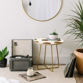 Deny Designs Mixed Dots Side Table