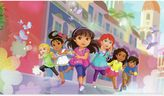 Bed Bath & Beyond York Wallcoverings Dora and Friends XL Chair Rail Prepasted Mural