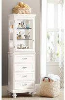 Pottery Barn Floor Cabinet & Hutch
