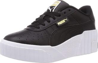 Puma Women's CALI Wedge WN S Sneaker Black White 3.5 UK