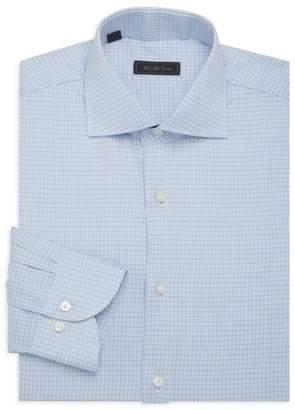 Saks Fifth Avenue Travel Cotton Dress Shirt
