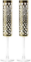 Roberto Cavalli Marrakech Champagne Goblets - Set of 2