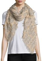 Chloé Fil Coupe Wool & Silk Scarf