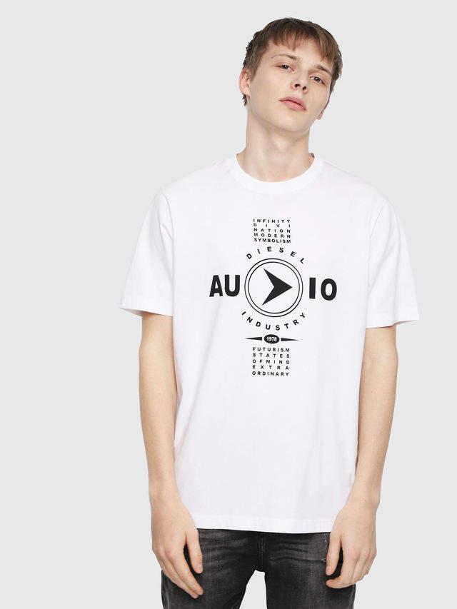 Diesel T-Shirts 0091A - White - XS