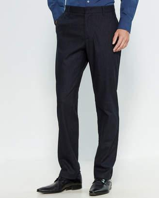 Zachary Prell Rushmore Pinstripe Wool-Blend Trousers