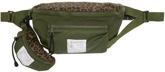 Satisfy Khaki Army Patchwork Belt Bag