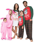 Asstd National Brand A Christmas Story Ralphie Family Pajama Set- Men's