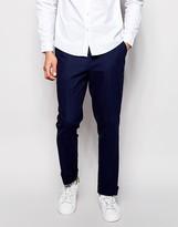 Asos Slim Fit Smart Pants In Twill