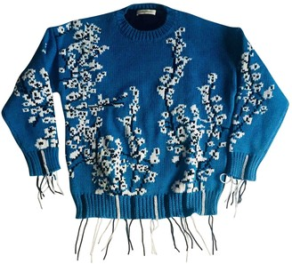Cédric Charlier Blue Cotton Knitwear for Women