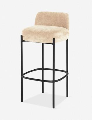 Lulu & Georgia Milla Bar Chair, Almond