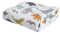 Little Unicorn Dino Friends Cotton Muslin Quilt