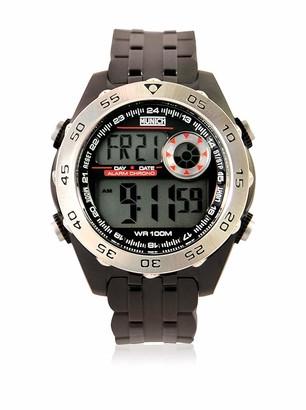 Munich Unisex Adult Digital Quartz Watch with PU Strap MU+111.1A