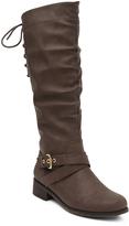 XOXO Brown Madrid Boot