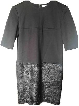 ICB Black Wool Dress for Women