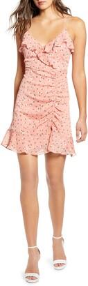 ALL IN FAVOR Callie Ruffle Minidress