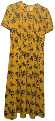 Michael Kors Yellow Cotton Dress for Women