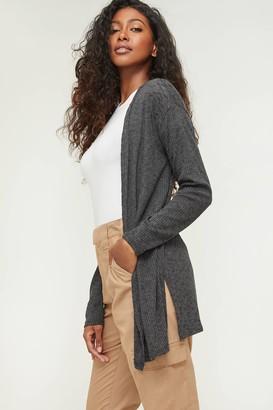 Ardene Open Rib-knit Cardigan